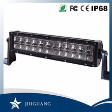 Low heat high power dual row off road 288w ce rohs 52 inch car led light bar