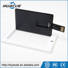 Custom Logo Business Card USB 2.0 Credit Card Shaped 128mb-64gb USB Flash Disk