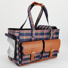 Luxury dog carrier folding rip prevented pet bag