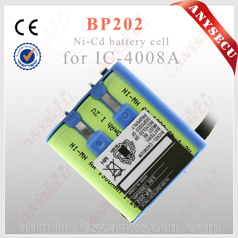 2 way radio walkie talkie BP202 Battery