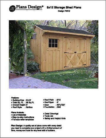 Cheap 8x12 Shed Plans Find 8x12 Shed Plans Deals On Line At