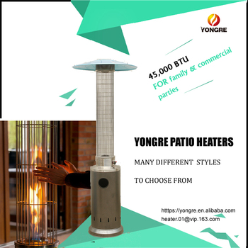 Large Best B Q Propane Patio Heater Thermo Made In China