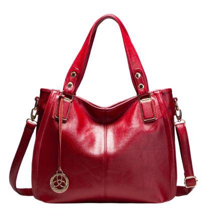 Роскошные брендовые сумки из натуральной кожи, женские ручные сумки, дизайнерские женские сумки через плечо для женщин 2018, сумки на плечо с ...(Китай)