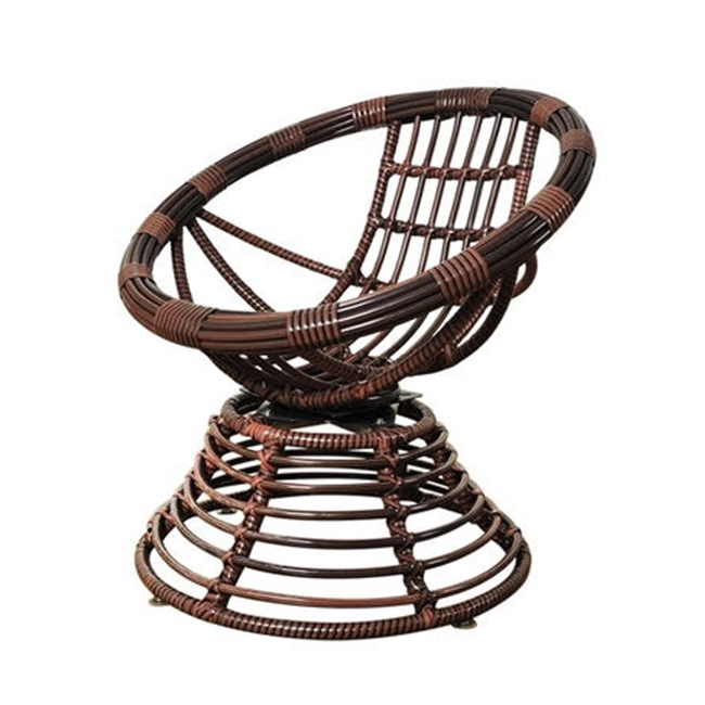 Hot outdoor furniture rattan twirl chair coffee table garden supplies