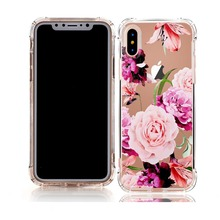 UV printing unique design 360 degree edge protective beautiful air bubble shockproof phone case mobile
