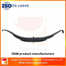 Hot sale Truck Suspension , 60Si2Mn SUP9 Trailer Leaf spring