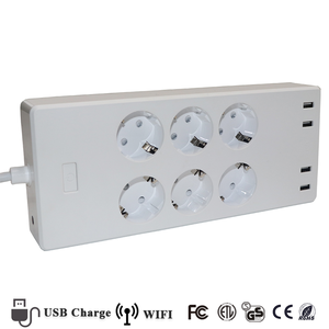 Wholesale Wifi Smart Outlet Plug Socket With 1.8M Wire