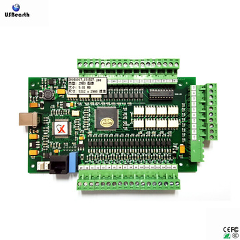 Mach3 Usb Controller Card 3 Axis Cnc Smooth Stepper Motion Controller Card  Breakout Board For Cnc Engraving - Buy Mach3 Usb 3 Axis Cnc,Control