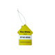Paper hanging scents paper car air freshener for wholesale