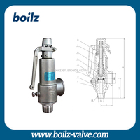 Alibaba Express China Safety Relief Valves For Lpg Steam Boiler Safety Valve