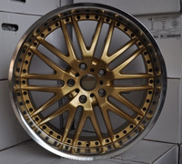 Gold Steel Wheels for many cars