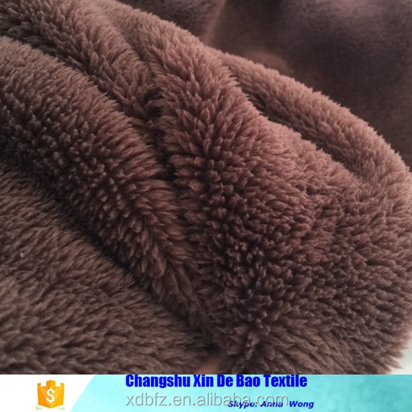 100% Polyester Solid Color Super Soft Sherpa Fleece plush Fabric price for Garment,Toys,Blanket,Bathrobe,Home Textile,Shoes