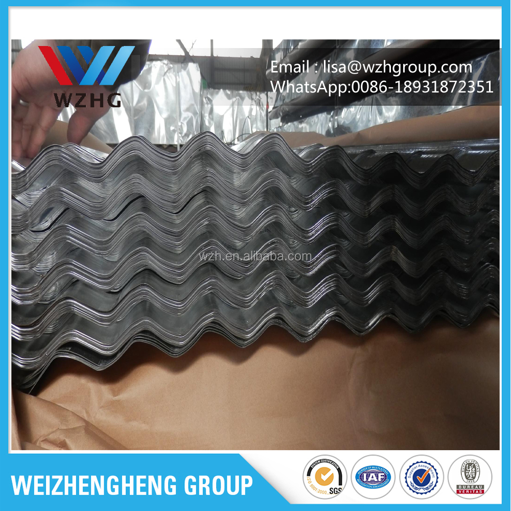 color printed corrugated steel sheet