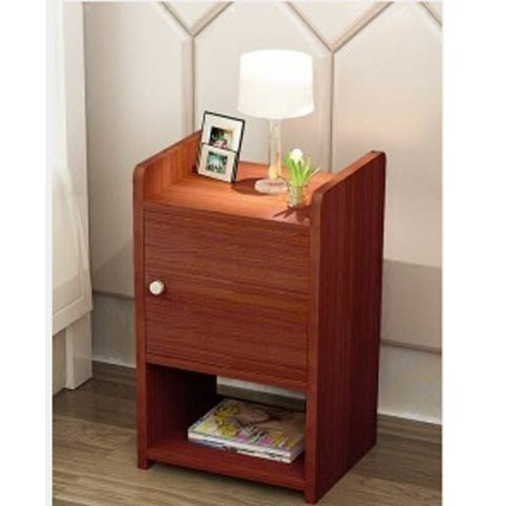 FJIWDTGYHFGT Simple Mini nightstand,Bedroom Bedside Cabinet,Space Narrow Cabinet Assemble lockers-B 30x30x50cm(12x12x20)