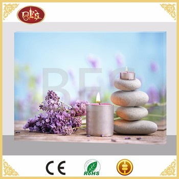 Gift LED Daily Flower Wholesale Cheap Canvas