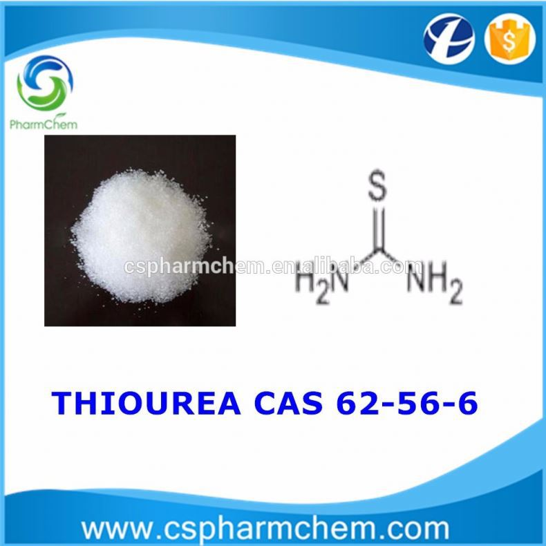 Thiourea (Thiocarbamide) CAS number: 62-56-6 drug, dye, resin, molding powder