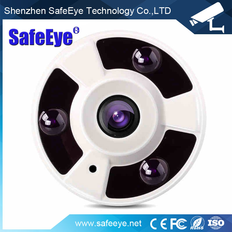 5MP Fisheye Wide Angle Lens TVI / CVI / AHD Hybrid panoramic 360 view Hybrid 1080P Fisheye CCTV Camera