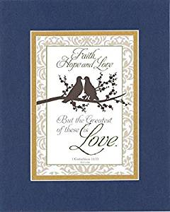 Buy GoodOldSaying - Poem for Love & Marriage - Faith, hope