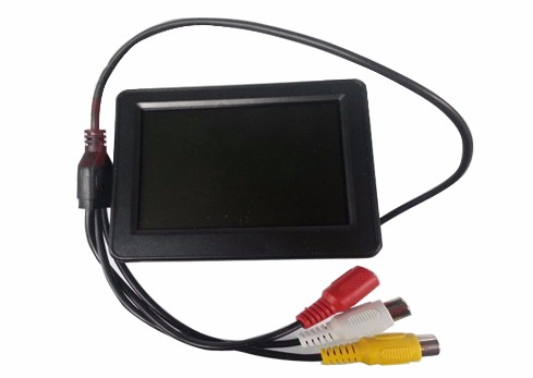 China supplier 3.5 inch mini car lcd monitor with wifi