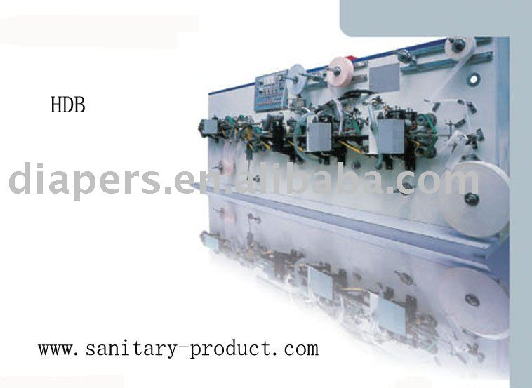 Auto Three-folded Sanitary Napkin Pads Panty Shield Packing Machine