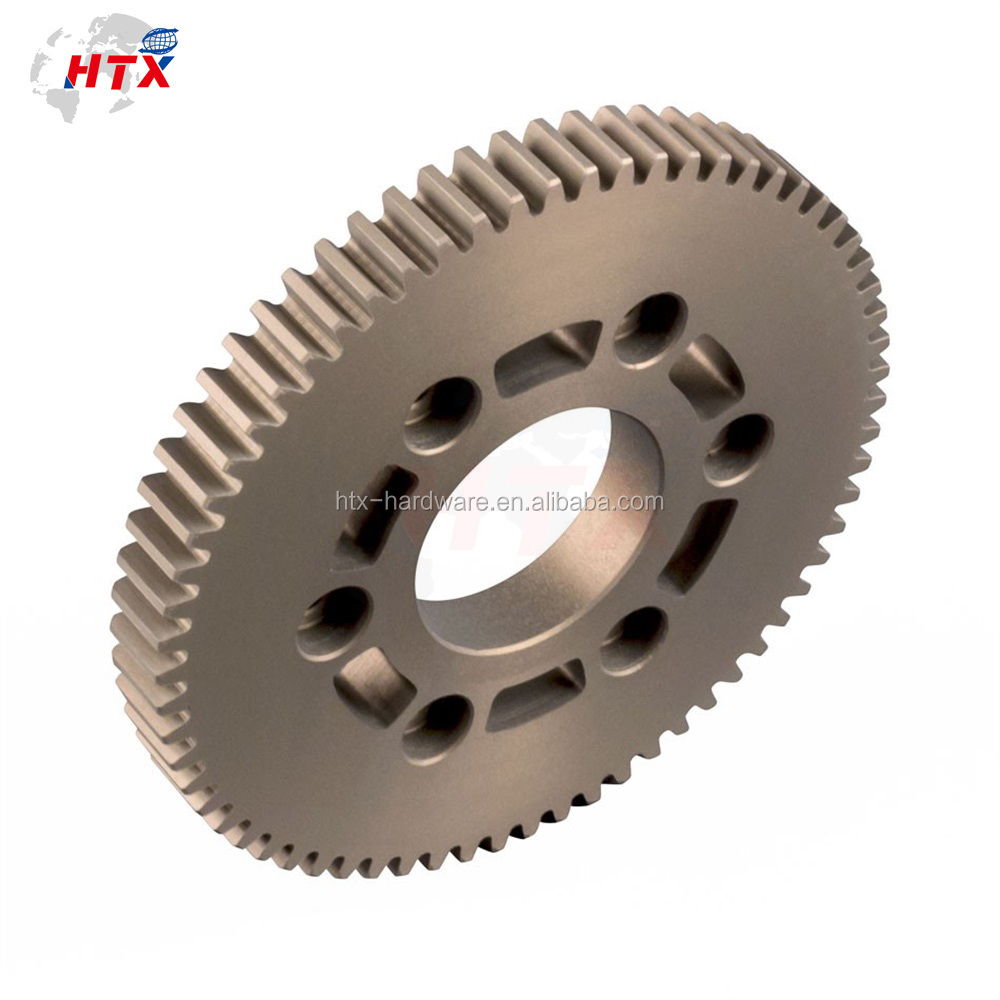 Low cost and high quality anodized ass ag face gear supply OEM custom-made