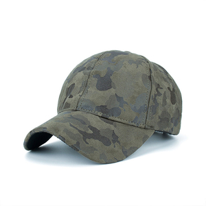 8fab978ecfe Wholesale custom fitted army camo suede 6 panel baseball cap hat