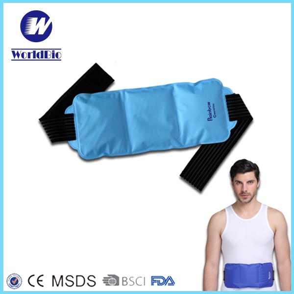 Cold pack Customized size shoulder ice pack rectangular hot and cold pack for knee