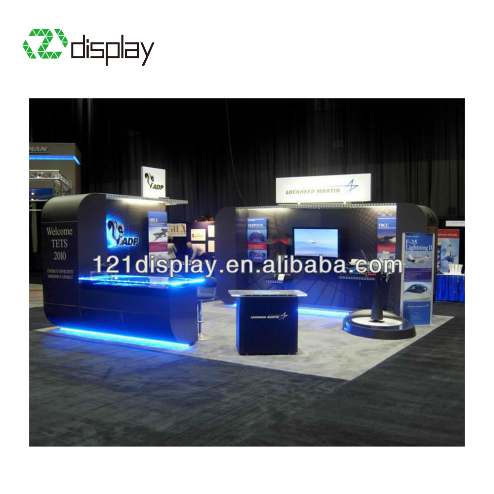 Exhibition Stall Lights : Re usable light aluminum modern exhibition stall for trade show