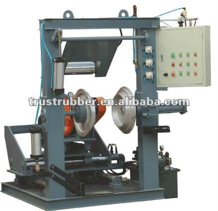used waste tyre retreading machine