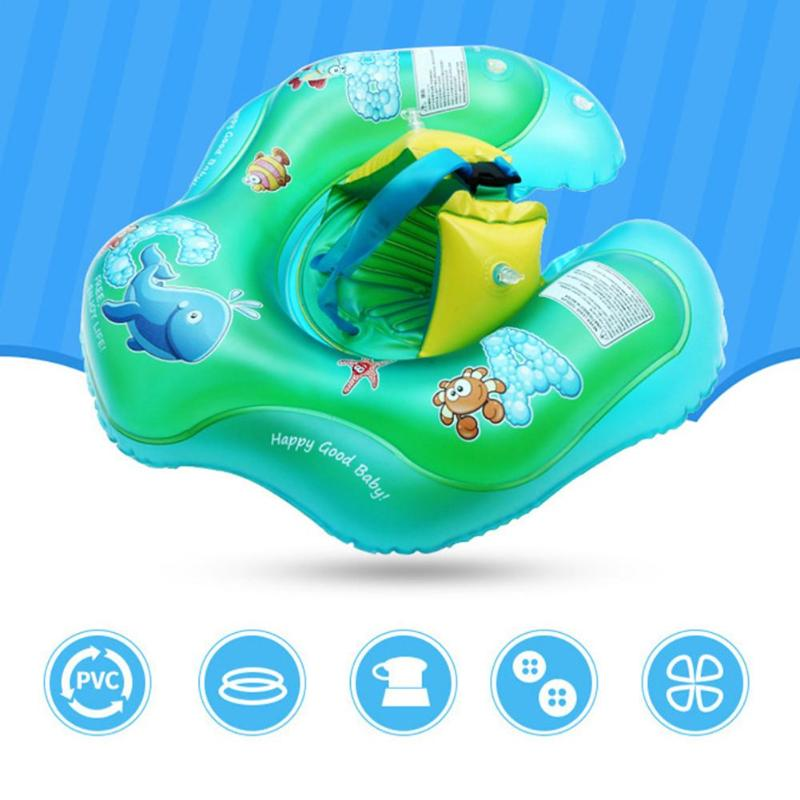 Amazon Hot Sell Baby Swimming Neck Ring Inflatable Swimming Neck Float