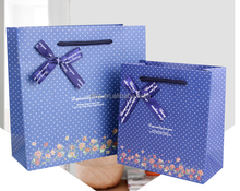 wave point gift paper bag custom wedding birthday gift candy packaging bag