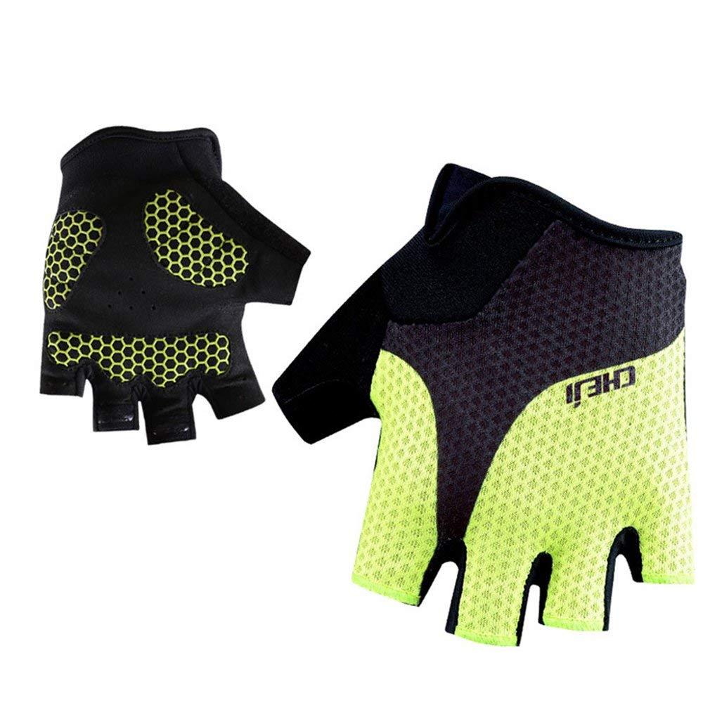 Men's Women's Cycling Gloves Summer Sport Team Mtb Half Finger Racing Riding