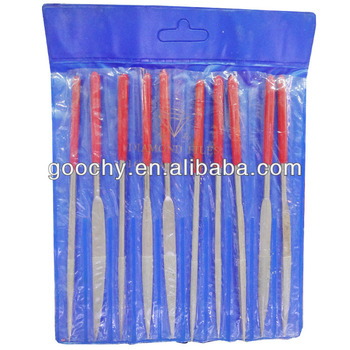 160x40mm 10pcs various shape diamond needle files medium diamond file mechanical hand tool