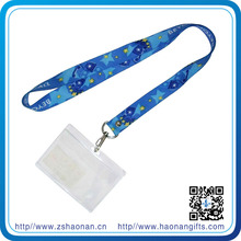 Corporate gifts business promotion ID card case with neck strap