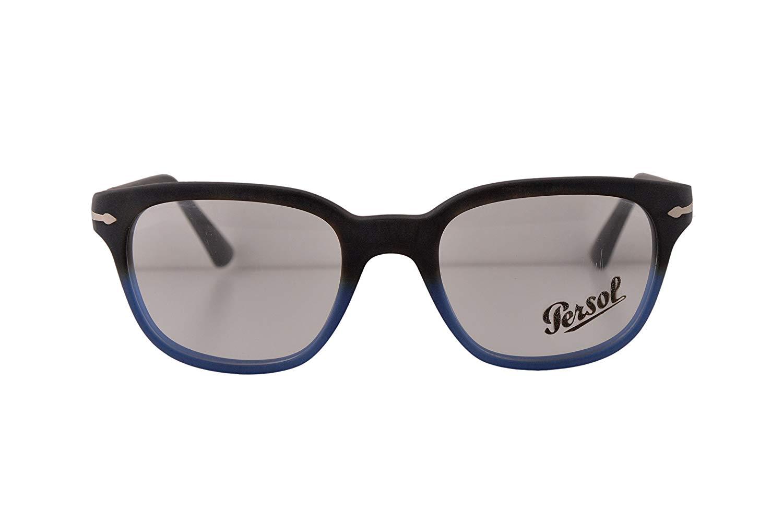 8103457699 Get Quotations · Persol PO3093V Eyeglasses 50-20-145 Dark Havana Gradient  Blue 9026 PO3093 (FRAME