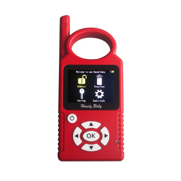 V4.2 Handy Baby Hand-held Car Key Copy Auto Key Programmer for 4D/46/48 Chip Key Programmer Replacement for 468 KEY PRO III