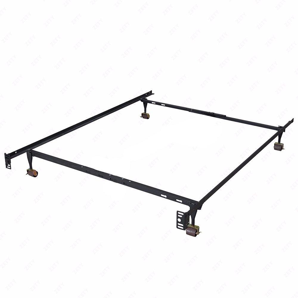 BestMassage Heavy Duty Metal Bed Frame Adjustable Queen Full Twin Size Platform