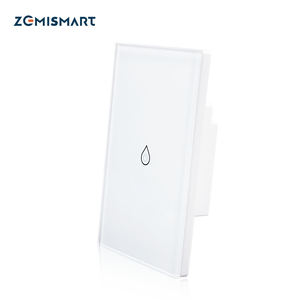 Zemismart Alexa Google Home Siri Control Touch Panel Timer Outdoor App Wifi Water Heater Switch