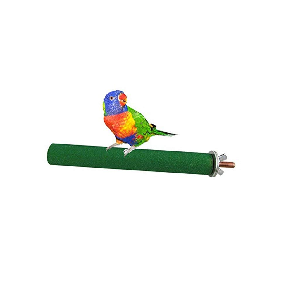 UEETEK Perches for Bird Cage Parrot Plastic Stand Rack Toy Parrots Cages Toy