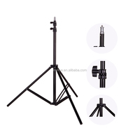 E-reise Photo 2M(79in) Light Stand Tripod With 1/4 Screw Head For Photo Studio Softbox Video Flash Umbrellas Reflector Lighting