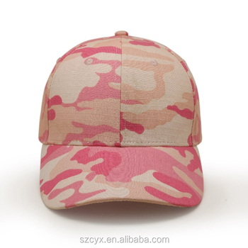 womens cap custom army hat ladies pink camo hat military style baseball cap f35ce97d4a