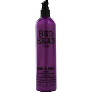BED HEAD by Tigi DUMB BLONDE SHAMPOO FOR CHEMICALLY TREATED HAIR 13.5 OZ (NEW PACKAGING) for UNISEX ---(Package Of 2)