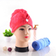 Factory Wholesale hot sale quick dry turbie twist coral fleece adult hair towel