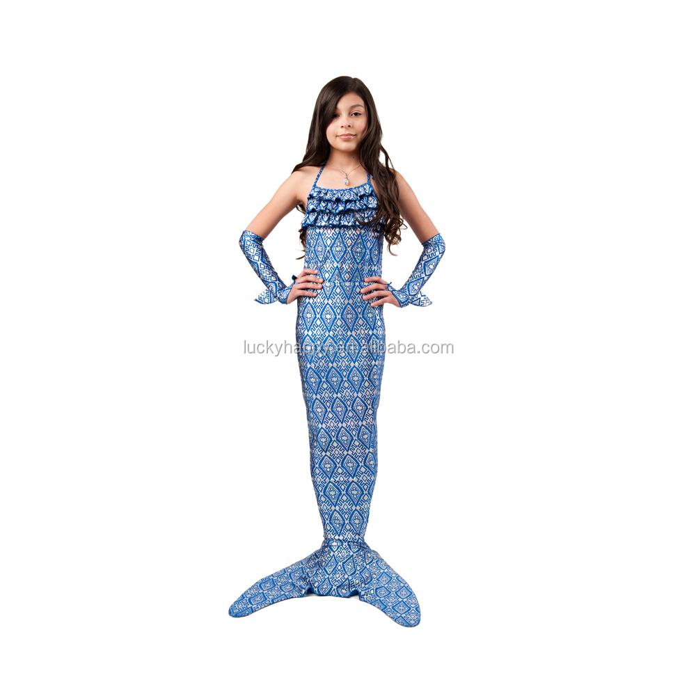 Bambini costumi da bagno bikini digitale stampata tessuto sirena vestiti costumi da bagno id - Tessuto costumi da bagno ...