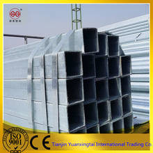 glass curtain wall pre galvanized/galvanized square steel pipe weight steel pipe sizes mild steel tube 4