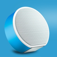 High Quality Round Mini Wireless Portable Bluetooth Speaker mini round outdoor portable bluetooth super bass wireless speaker