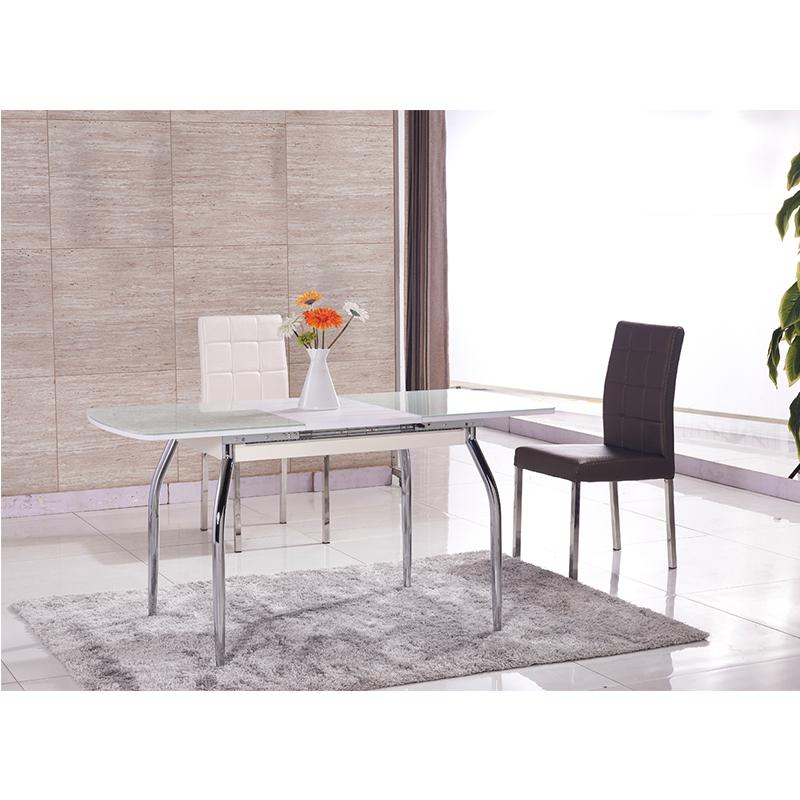 diseos de mesa de comedor muebles de la sala moderna de vidrio templado mesa de comedor