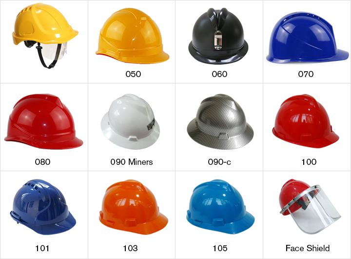 อุปกรณ์ความปลอดภัยในสถานที่ทำงานซื้ออุตสาหกรรมหมวกนิรภัย