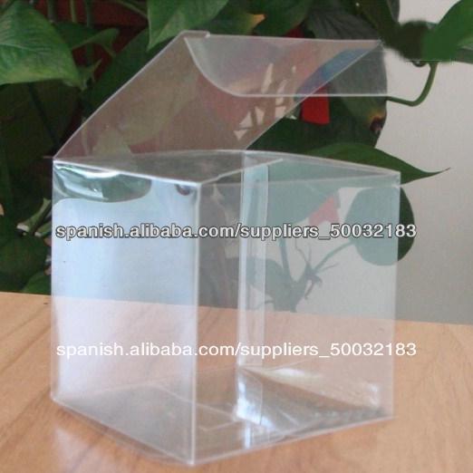 Peque a caja de pl stico transparente al por mayor caja for Cajas de plastico transparente