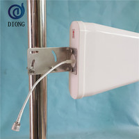 high gain 806-2700MHz 4G Outdoor directional LPDA antenna with 11db 10m cable for mobile signal booster